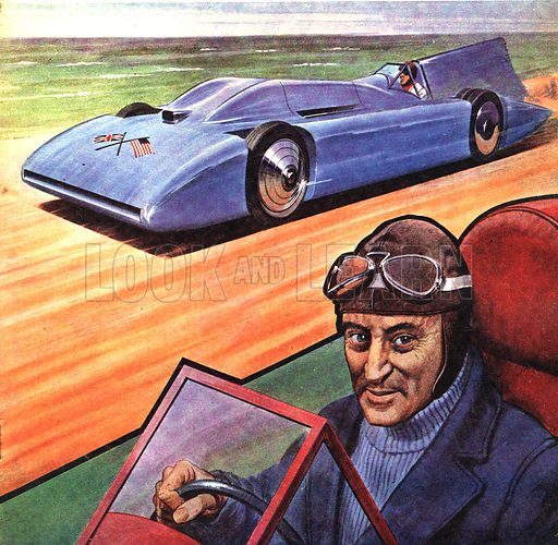 Famous Partnerships: Malcolm Campbell and Bluebird.