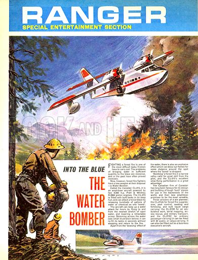 Into the Blue: The Water Bomber.