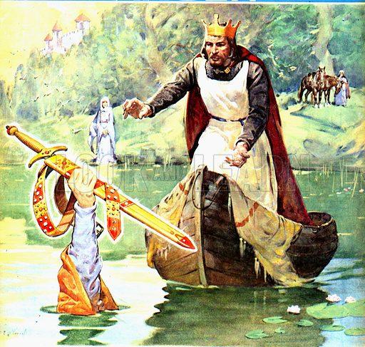 Famous Partnerships: Arthur and Excalibur.
