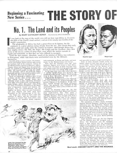 The Story of Africa: The Land and Its People.