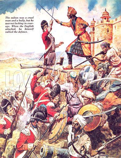 The Tyrant of Mysore. How Arthur Wellesley, first Duke of Wellington, defeated the Sultan of Mysore.