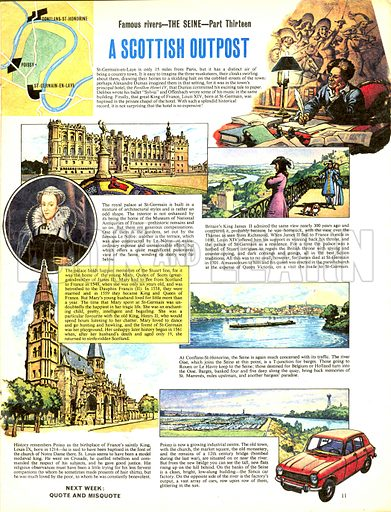 Famous Rivers -- The Seine: A Scottish Outpost.