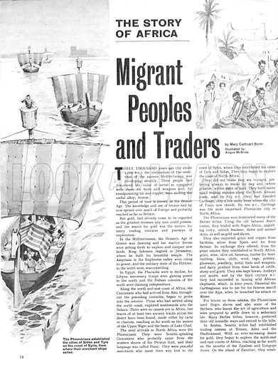 The Story of Africa: Migrant Peoples and Africa.