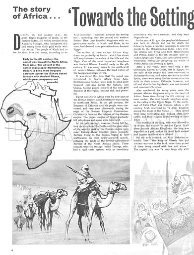 The Story of Africa: Towards the Setting Sun. One of the greatest emperors of the kingdom of Mande was Mansa Musa who came to power in 1307.