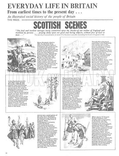 Everyday Life in Britain: Scottish Scenes.