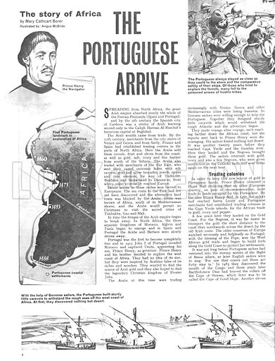 The Story of Africa: The Portuguese Arrive.