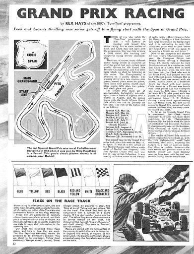 Grand Prix Racing – the Spanish Grand Prix.