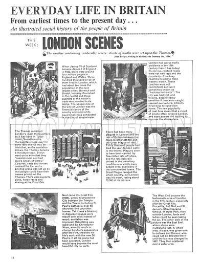 Everyday Life in Britain: London Scenes.