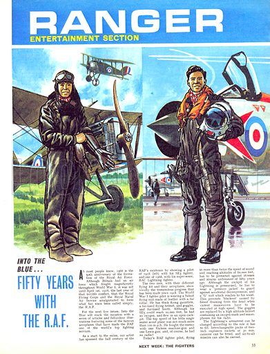 Into the Blue: Fifty Years with the RAF.