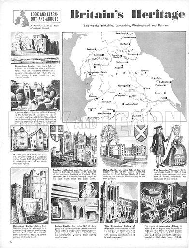 Britain's Heritage: Yorkshire, Lancashire, Westmorland and Durham.