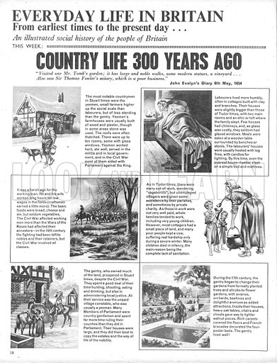 Everyday Life in Britain: Country Life 300 Years Ago.