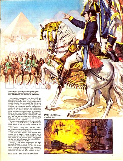 The Story of Africa: Grand Sultan of the East. At the Battle of the Pyramis, the decadent luxury of the Mamelukes came face to face with the cannons and muskets of the French led by Napoleon.