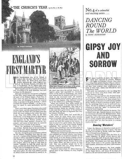 Dancing Round the World: Gipsy Joy and Sorrow.