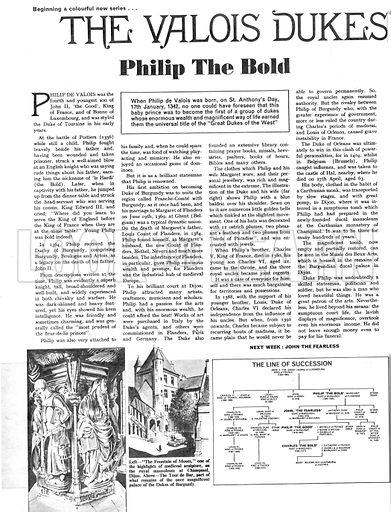 The Valois Dukes: Philip the Bold.