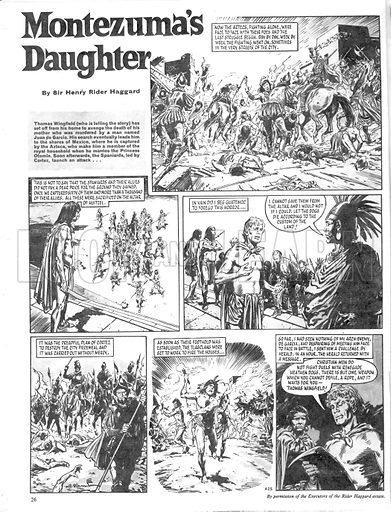 Montezuma's Daughter, based on the novel by Sir Henry Rider Haggard.