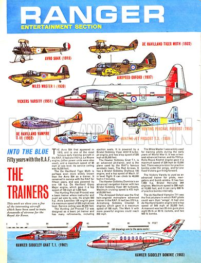 Into the Blue: Fifty Years with the RAF – The Trainers.