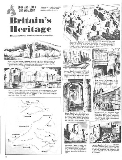 Britain's Heritage: Wales, Herefordshire and Shropshire.