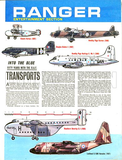 Into the Blue: Fifty Years with the RAF -- Transports.