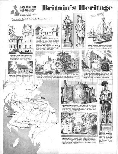 Britain's Heritage: Scottish Lowlands, Cumberland and Northumberland.