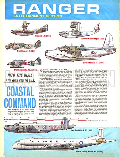 Into the Blue: Fifty Years with the RAF -- Coastal Command.
