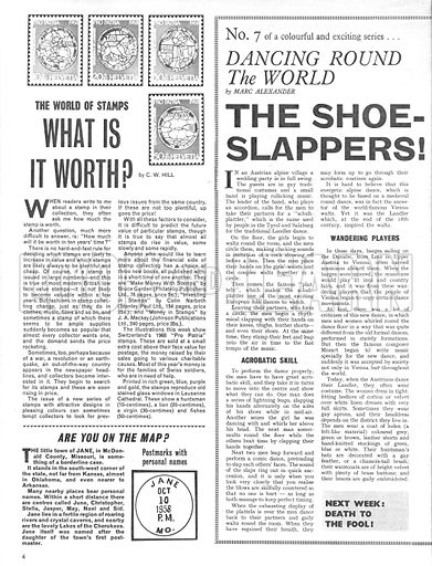 Dancing Round the World: The Shoe-Slappers!.