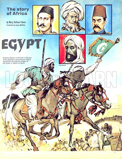 The Story of Africa: The Fortunes of Egypt!.