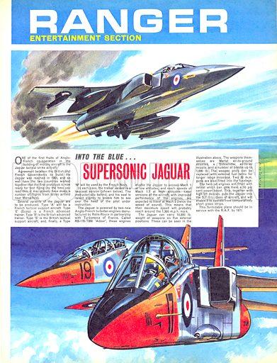 Into the Blue: Supersonic Jaguar.