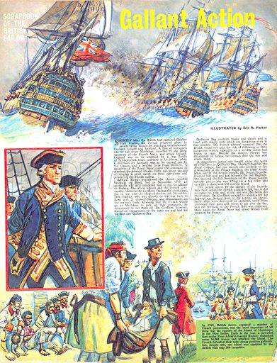 Scrapbook of the British Sailor: Gallant Action.