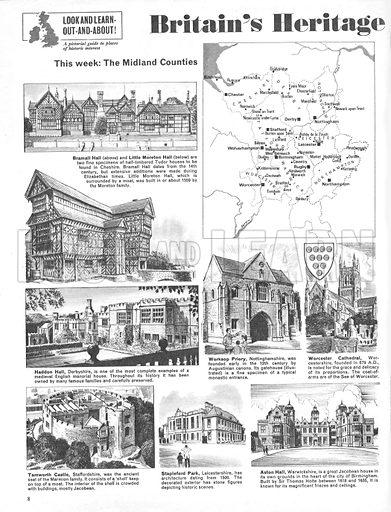 Britain's Heritage: The Midland Counties.