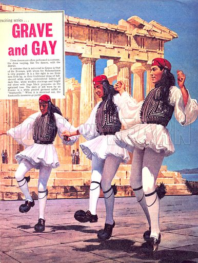 Dancing Round the World: Grave and Gay.