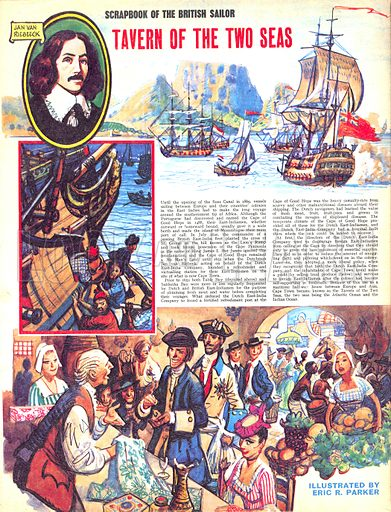 Scrapbook of the British Sailor: Tavern of the Two Seas.