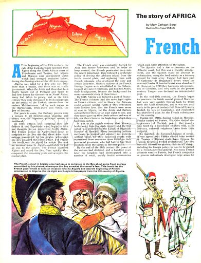 The Story of Africa: French Colonists.
