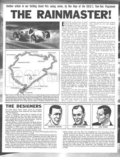 Grand Prix Racing: The Rainmaster!.