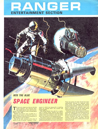 Into the Blue: Space Engineer.