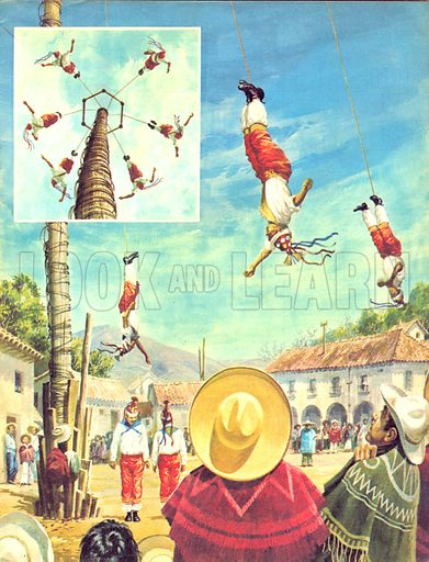 Dancing Round the World: The Human Maypole.