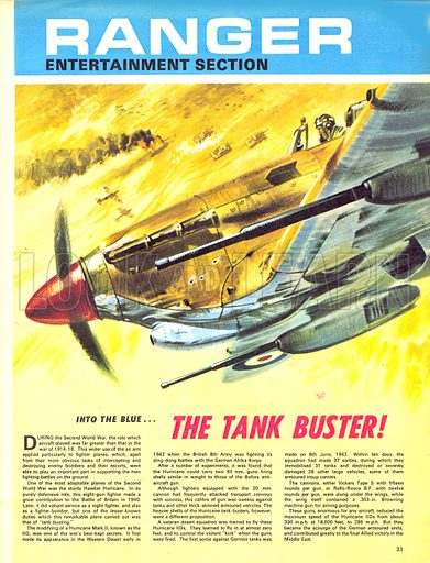 Into the Blue: The Tank Buster!.