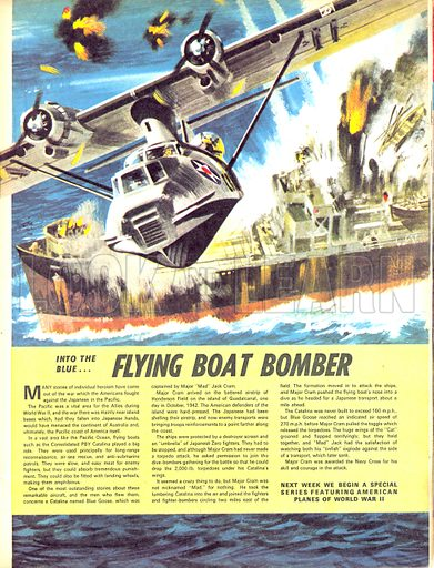 Into the Blue: Flying Boat Bomber.