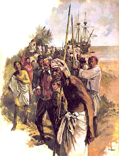 """Prisoner of the Lion King. Captain Knox lands in Ceylon in the mid-17th century. """"The country was beautiful and the people friendly. Captain Knox and his crew had no idea of the horror that awaited them.""""."""
