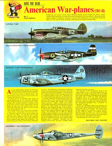 Into the Blue: American War-planes (1941-45).
