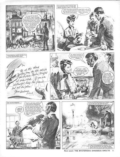 The Sign of Four, based on the novel by Sir Arthur Conan Doyle.