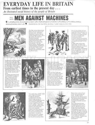 Everyday Life in Britain; Men Against Machines.