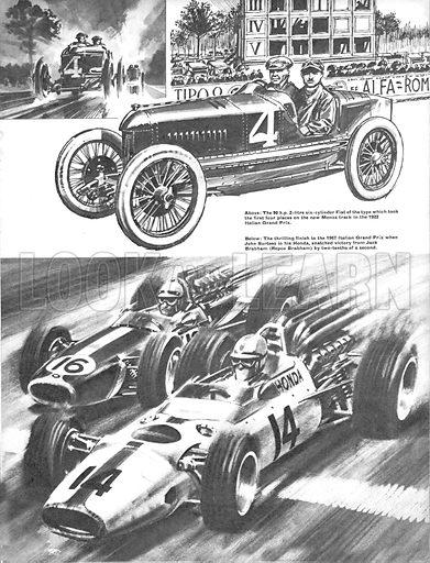 Grand Prix Racing: Magnificent Monza.