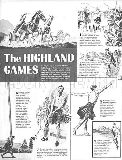 The Highland Games.