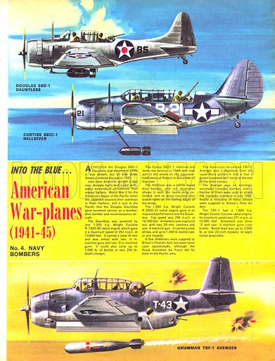 Into the Blue: American War-planes (1941–45).