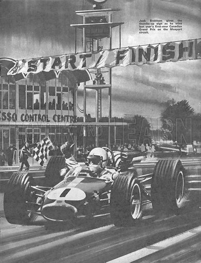 Grand Prix Racing: Canada's Grand Prix.