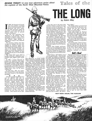 Tales of the Canadian Mounties: The Long March.