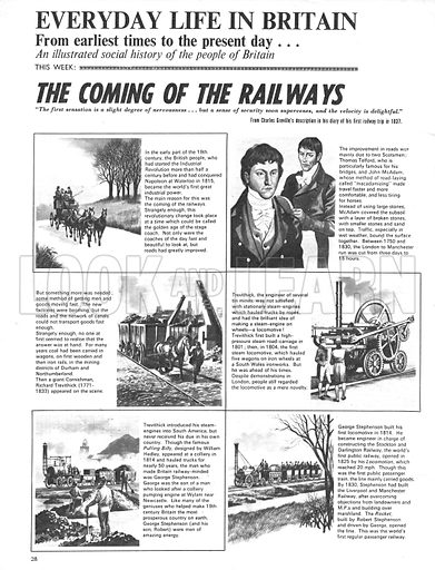 Everyday Life in Britain: The Coming of the Railways.