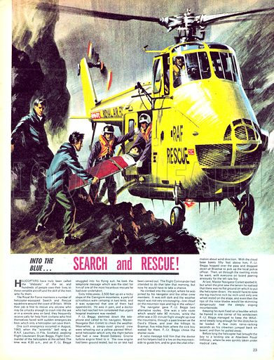 Into the Blue: Search and Rescue!.