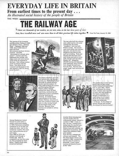 Everyday Life in Britain: The Railway Age.
