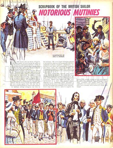 Scrapbook of the British Sailor: Notorious Mutinies.